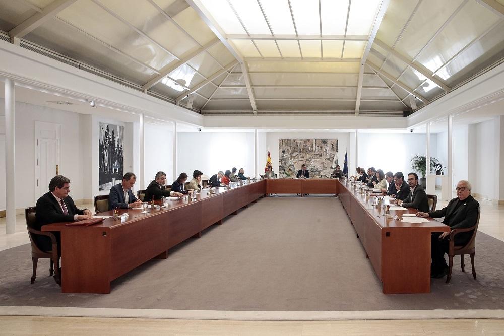 Reunión del Gobierno crisis coronavirus