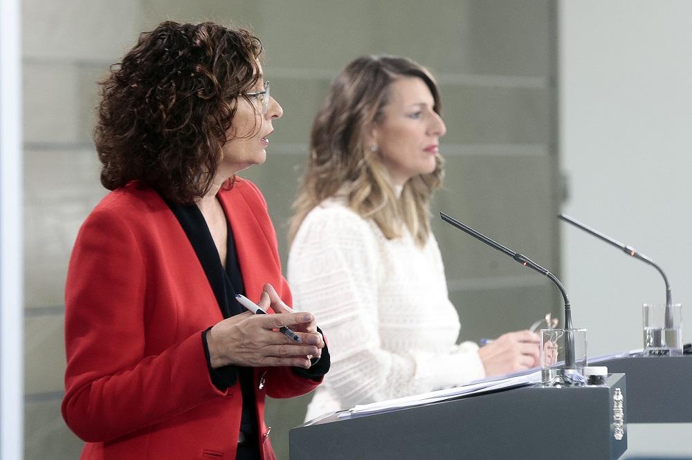 España, rueda de prensa Ministras