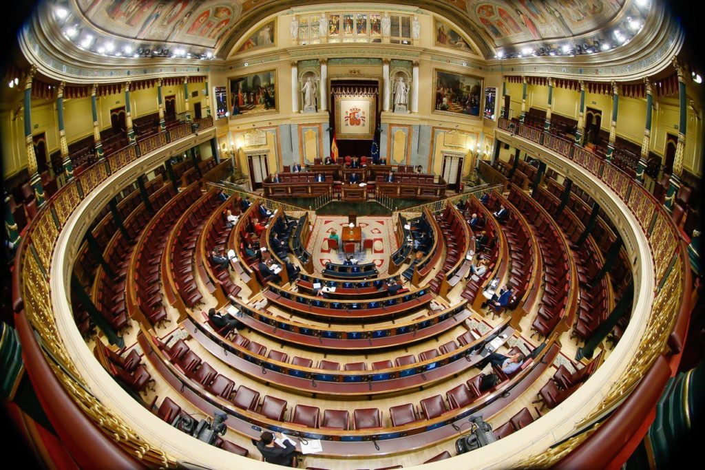 Crisis Coronavirus-Congreso de los Diputados
