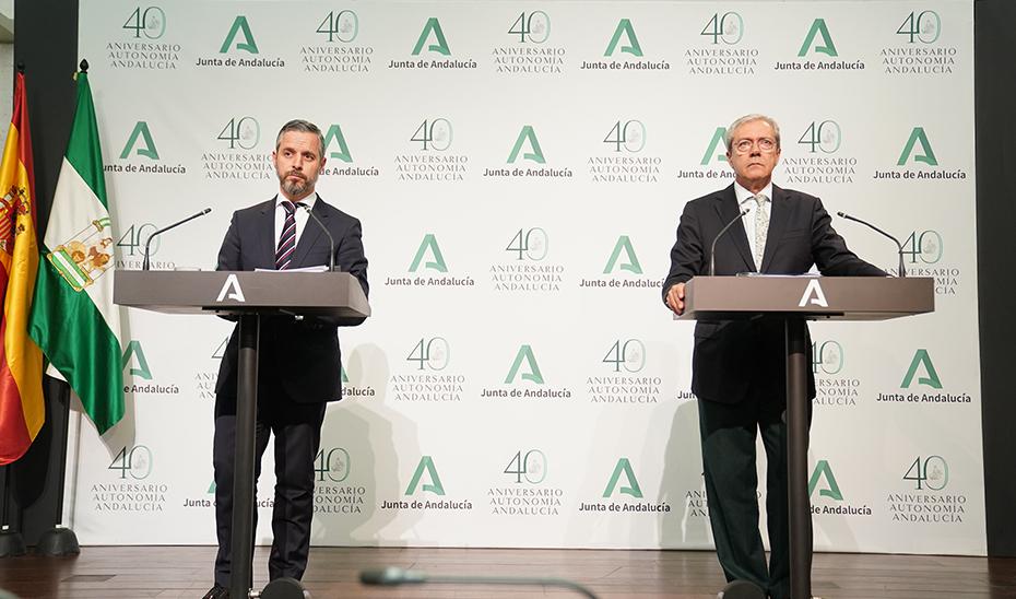 Consejeros Junta de Andalucía