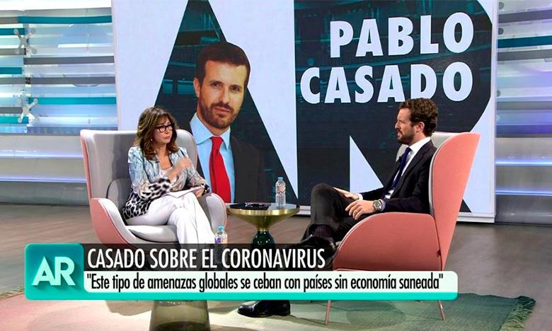 Entrevista Pablo Casado en el programa de Ana Rosa