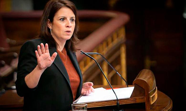 Congreso de los Diputados, intervención de Adriana-Lastra
