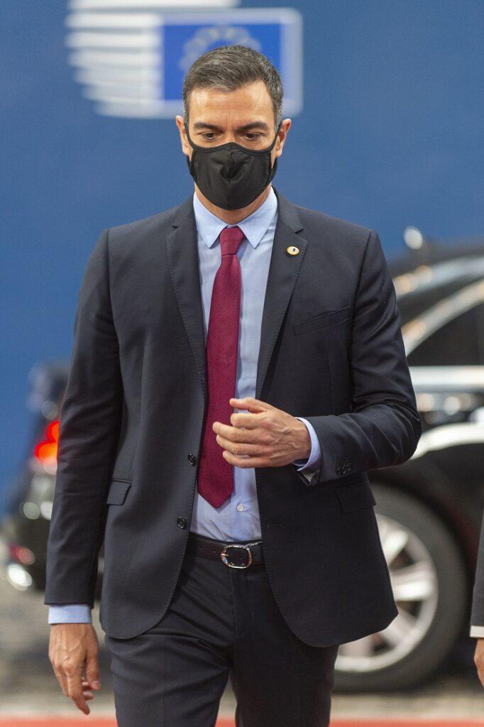 Pedro Sánchez cumbre eurogrupo